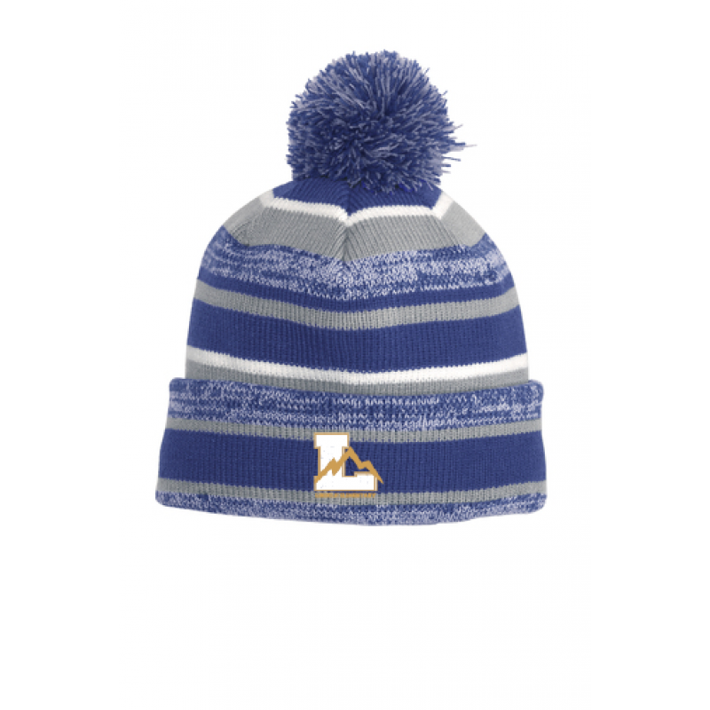 Lincoln Sideline Beanie, Embr. Loglo