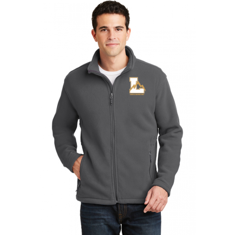 Lincoln Adult Value Fleece Jacket, Embr Logo