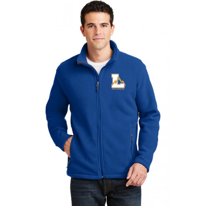 Lincoln Adult Value Fleece Jacket, Embr Logo